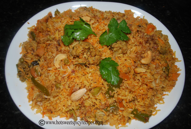Vegetable Biryani | Hot Sweet Spicy Recipes