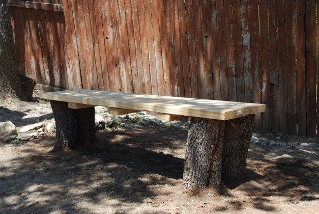 Making A Garden Bench A Family Project Hot Sweet Spicy Recipes