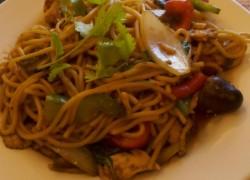 mung thai spaghetti ke mao dish