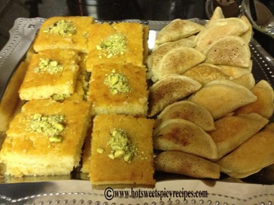 harissa- semolina cake