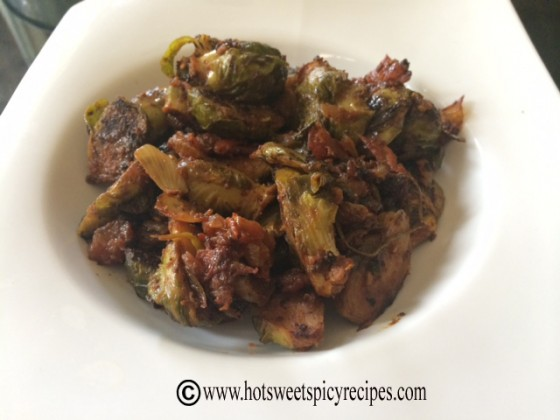 brussel sprouts curried 2
