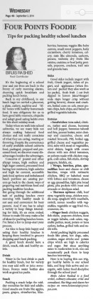 Fourpointsnews- lunch article sept3,2014