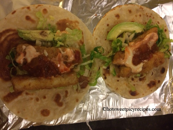 Lunch box ideas fish tacos hot sweet spicy recipes fish tacos1 forumfinder Gallery